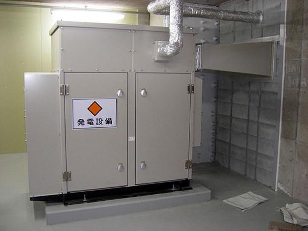 三井造船マシナリーサービス 発電機